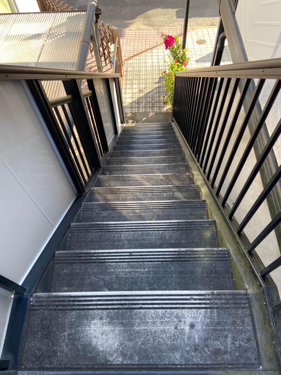 奈良市(奈良県)の外壁高圧洗浄事例