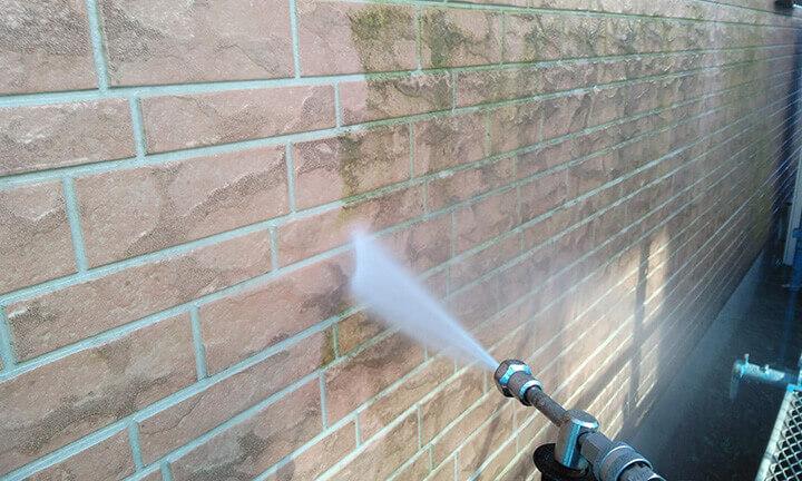外壁の高圧洗浄業者