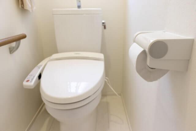高圧洗浄に対応できるトイレ