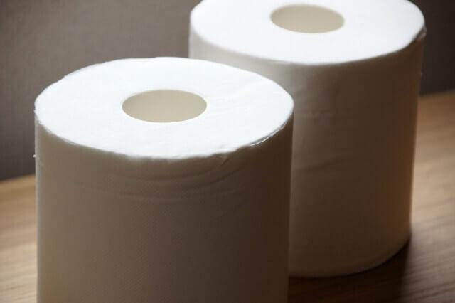トイレットペーパーによるトイレの詰まり