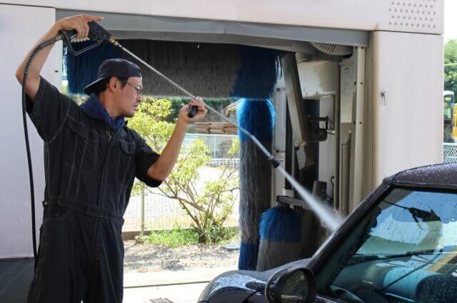 自転車や車の掃除に使用する高圧洗浄機の選び方