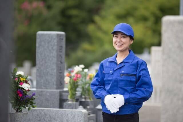 墓石クリーニング業者のゴミ屋敷バスター七福神